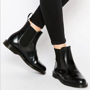 Dr. Martens Flora Chelsea Boots // Chunky Boots